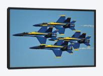 custom framed st. louis airshow blue angels